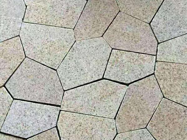 黄锈石冰裂纹图片